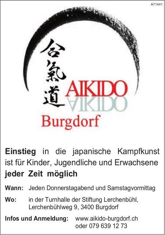 AIKIDO, Burgdorf - Einstieg in die japanische Kampfkunst