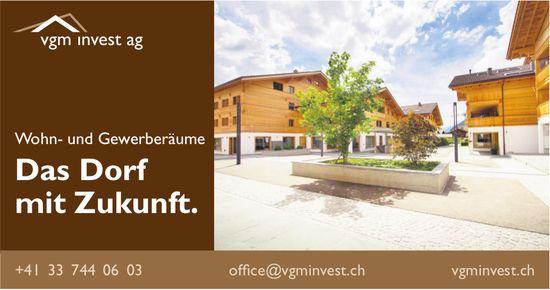 vgm invest ag - Wohn- und Gewerberäume, Das Dorf mit Zukunft.