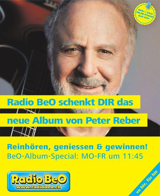 Radio BeO schenkt DIR das neue Album von Peter Reber
