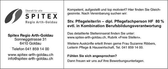 Stv. Pflegeleiter/in - dipl. Pflegefachperson HF, 80%, Spitex Regio Arth-Goldau