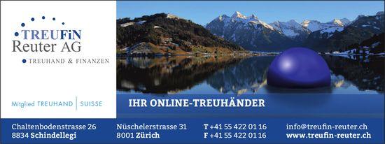 Ihr Online-Treuhänder, TREUFiN Reuter AG