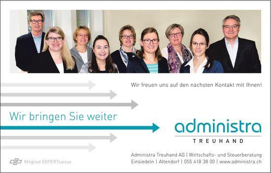 Wir bringen Sie weiter, Administra Treuhand AG