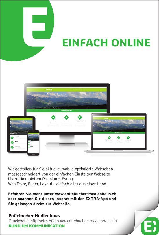 Entlebucher Medienhaus - EINFACH ONLINE