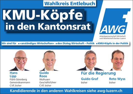 Wahlkreis Entlebuch - KMU-Köpfe in den Kantonsrat