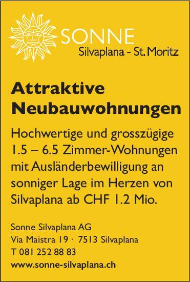 Attraktive Neubauwohnungen zu verkaufen, Silvaplana