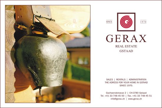 Gerax Real Estate Gstaad