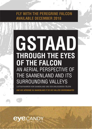 Gstaad through the eyes of the falcon
