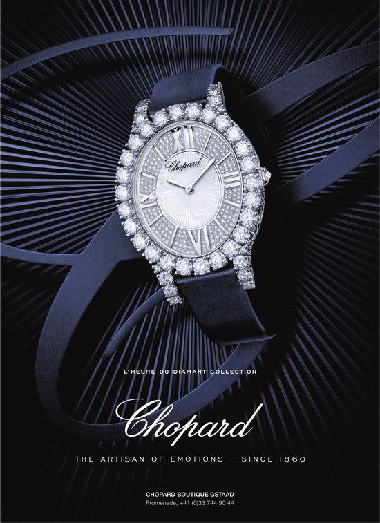 L'heure du diamant collection, Chopard Boutique Gstaad