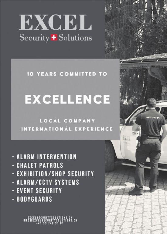 EXCEL Security Solutions - 10 YEARS COMMITTED TO EXCELLENCE