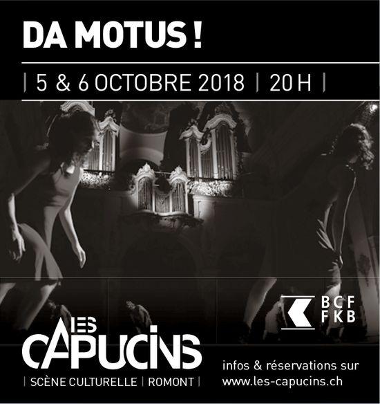 LES CAPUCINS, 5 & 6 OCTOBRE, SCÈNE CULTURELLE, ROMONT