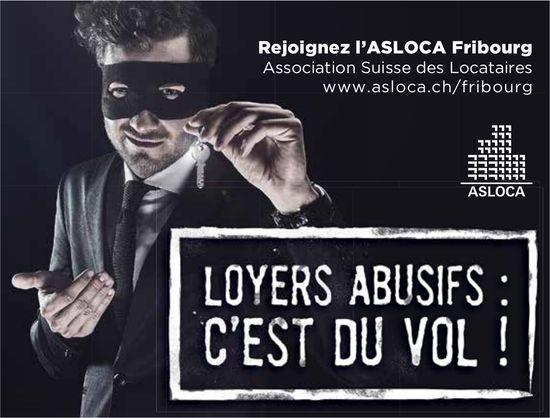 Association Suisse des Locataires - Loyer abusif c'est du vol !