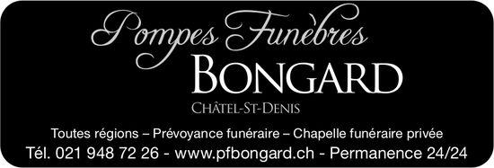 Pompes Funèbres Bongard, Châtel-St-Denis, Prévoyance funéraire - Chapelle privée