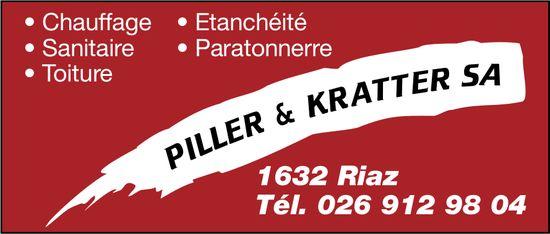 PILLER & KRATTER SA, Riaz, Chauffage-Sanitaire-Étanchéité-Paratonnerre