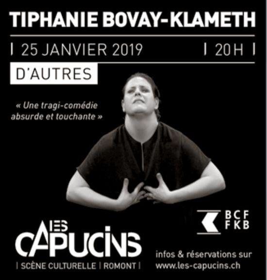 LES CAPUCINS, ROMONT, TIPHANIE BOVAY-KLAMETH LE 25 JANVIER