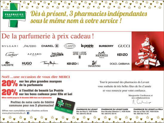 Pharmacie U Levany - La Pâla - Gare - Dès à présent, 3 pharmacies indépendantes sous le même nom