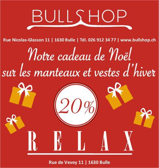 BULLSHOP - Notre cadeau de Noël sur les manteaux et veste d'hiver