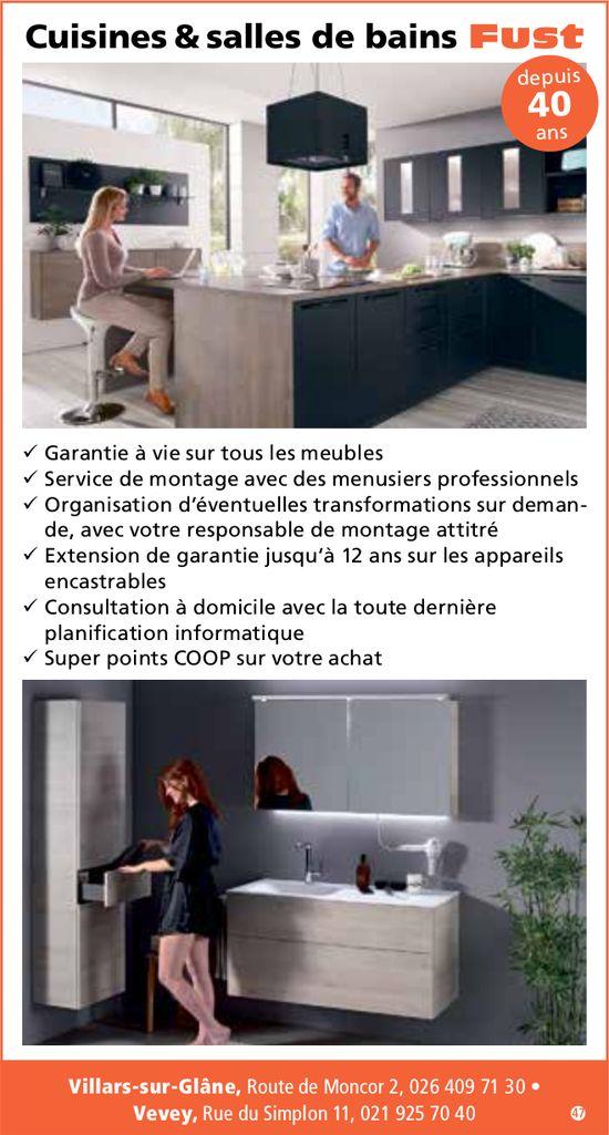 Cuisines & salles de bains Fust, Villars-sur-Glâne, Depuis 40 ans