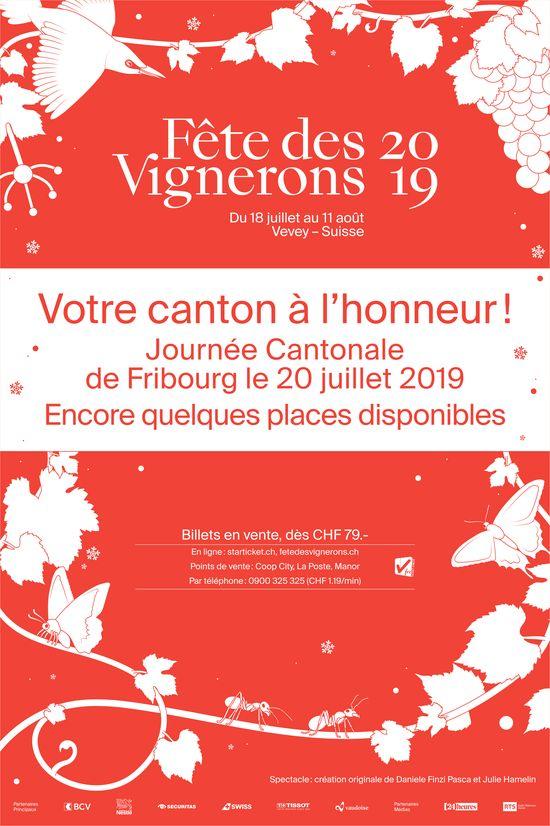 Fête des Vignerons du 18 juillet au 11 août 2019 - Billet en vente dès CHF 79.-