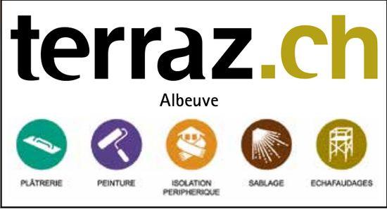 Terraz, Albeuve, Plâtreries- peinture-isolation-sablage-échafaudages