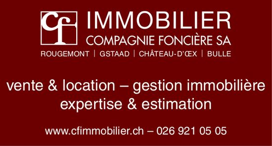 IMMOBILIER COMPAGNIE FONCIÈRE SA, Vente & location - Gestion immoblière & estimation