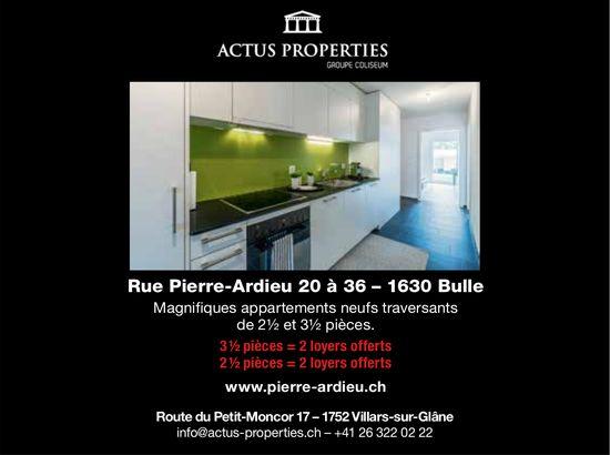 Appartements, 2.5 et 3.5 pièces, Bulle, à louer