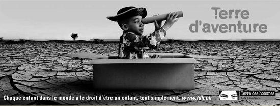 Terre d'aventure - Chaque enfant dans le monde a le droit d'être un enfant; tout simplement