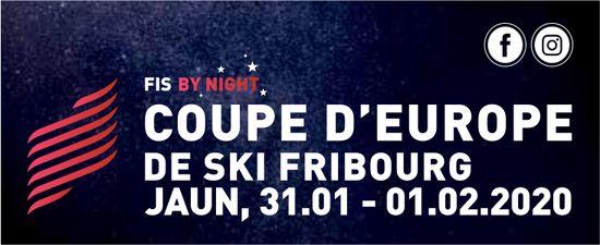 COUPE D'EUROPE DE SKI FRIBOURG, 31.01 - 01.02.2020, JAUN