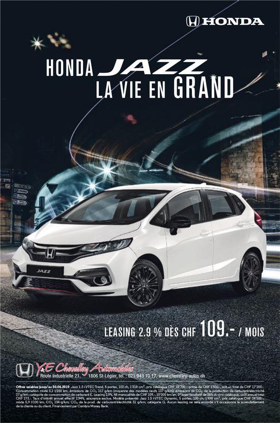 Y & E Chevalley Automobile, St-Légier, Leasing 2.9% Dès CHF 109.-/mois