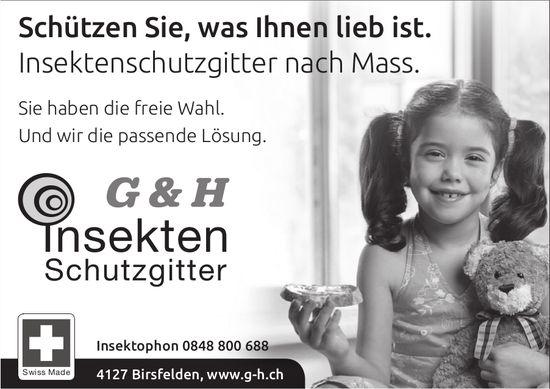 G&H Insekten Schutzgitter - Schützen Sie, was Ihnen lieb ist.