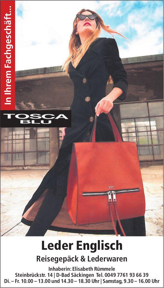 Tosca Blu - Leder Englisch, Reisegepäck & Lederwaren