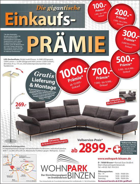 WohnPark Binzen - Die gigantische Einkaufsprämie