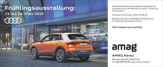 AMAG Aarau - Frühlingsausstellung: 23. bis 24. März 2019