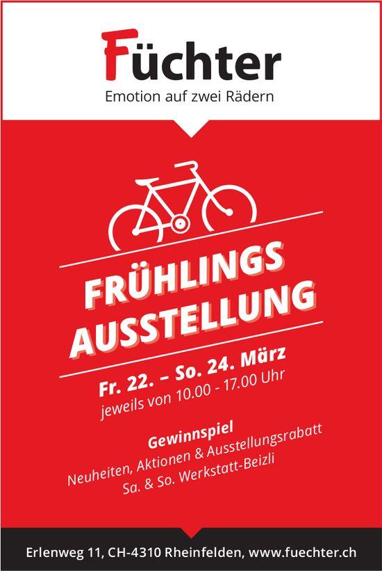 Füchter - Frühlingsausstellung, 22. bis 24. März