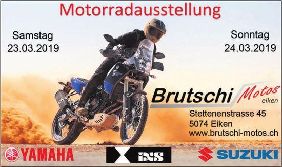 Brutschi Motos, Eiken - Motorradaugstellung, 23. + 24. März