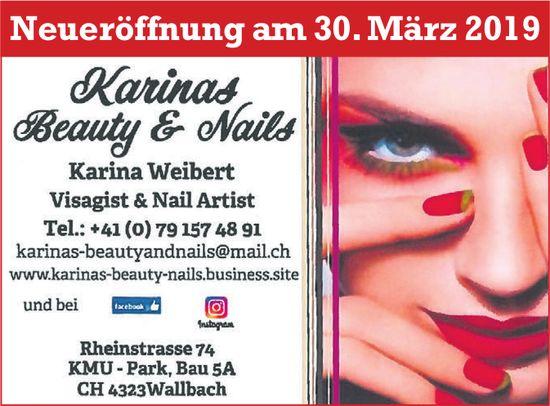 Karinas Beauty & Nails - Neueröffnung am 30. März