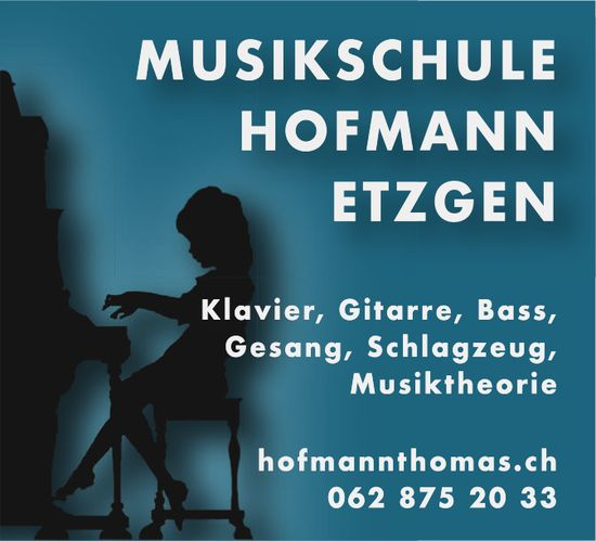 MUSIKSCHULE HOFMANN ETZGEN - Klavier, Gitarre, Bass, Musiktheorie usw.