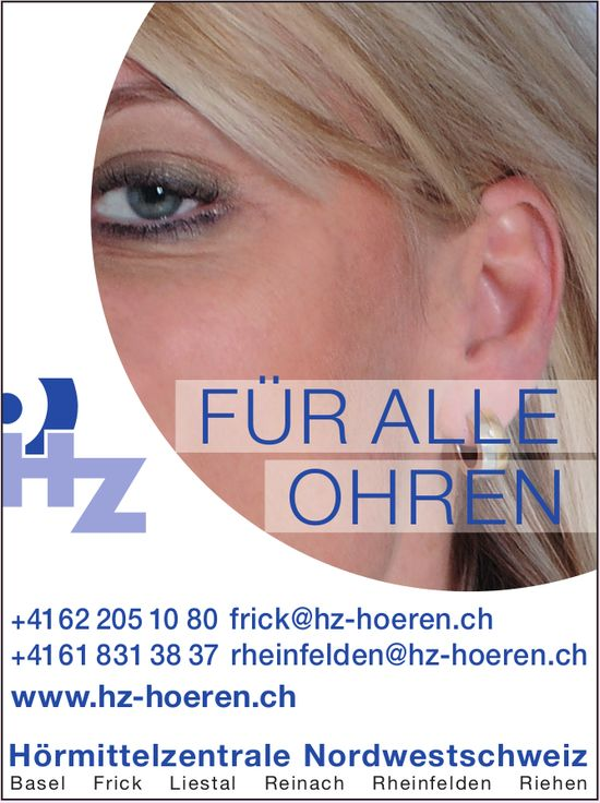 Hörmittelzentrale Nordwestschweiz - FÜR ALLE