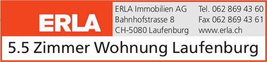5.5 Zimmer Wohnung in Laufenburg - Verkaufs- und Mietangebote auf www.erla.ch