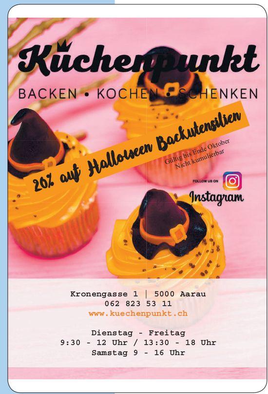 Küchenpunkt - 20% auf Halloween Backutensilien