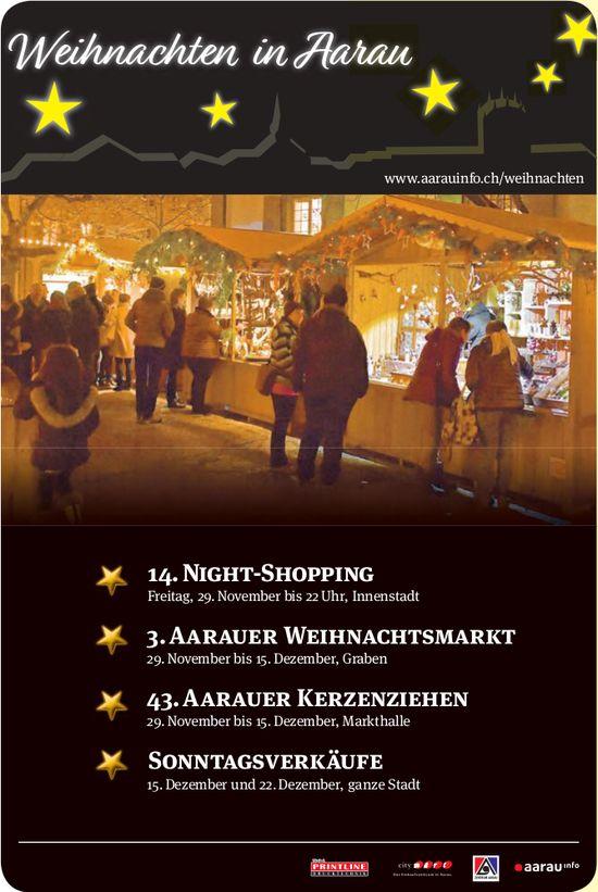 Weihnachten in Aarau - Programm & Events