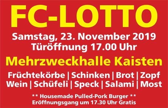 FC-LOTTO, 23. November, MZH Kaisten