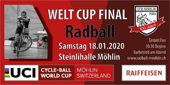 VCR Möhlin - WELT CUP FINAL RADBALL AM 18. JANUAR