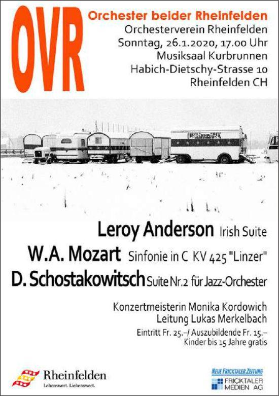 Konzert am 26. Januar, Orchesterverein Rheinfelden