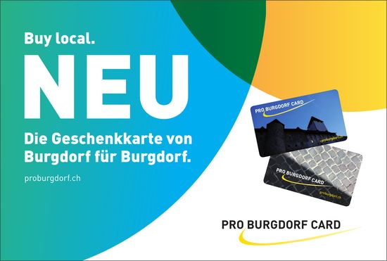 Buy local - Pro Burgdorf Card