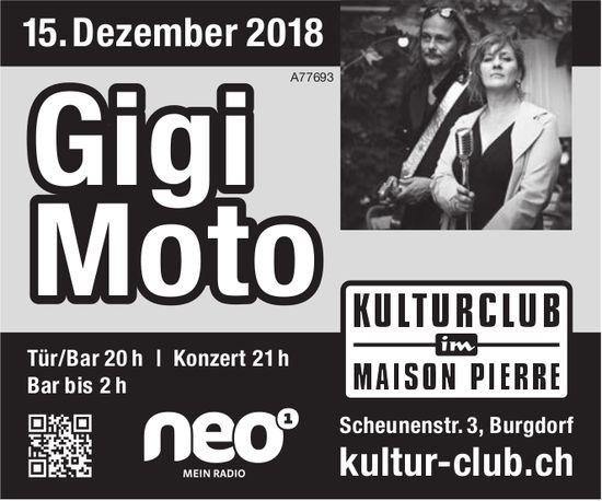 Kulturclub im Maison Pierre - Gigi Moto am 15. Dezember