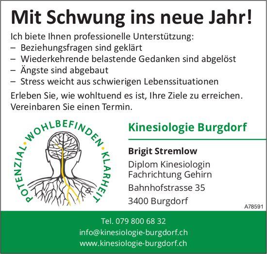 Kinesiologie Burgdorf - Mit Schwung ins neue Jahr!
