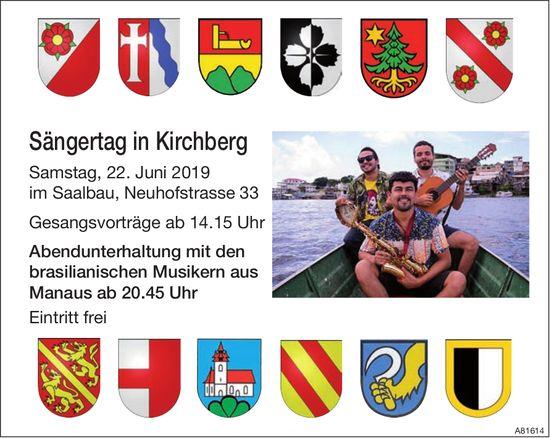 Sängertag in Kirchberg am 22. Juni