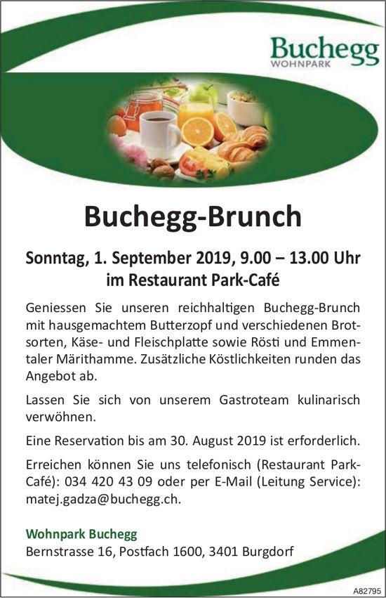 Wohnpark Buchegg - Buchegg-Brunch am 1. September