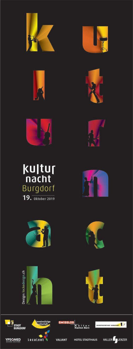 Kulturnacht Burgdorf, 19. Oktober
