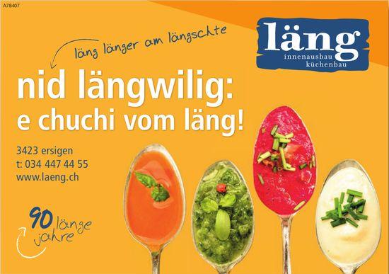 Läng Innenausbau Küchenbau - Nid längwilig: e chuchi vom läng!